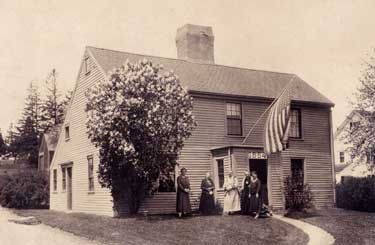 the Daughters of the Revolution Organization at the Macy-Colby House