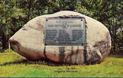 Golgotha Memorial, Amesbury, Massachusetts