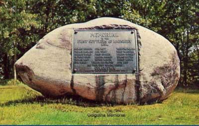 Golgotha Memorial, Amesbury, Massachusetts