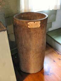 Hornbeam barrel the Macy-Colby House
