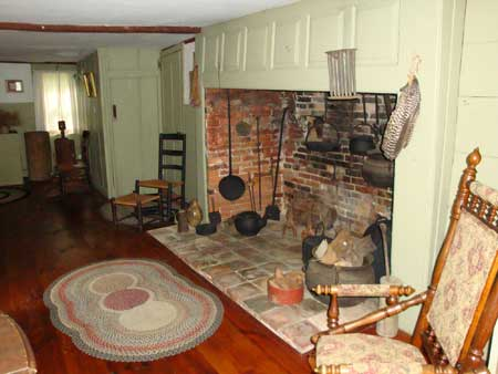 The Keeping Room at the Macy-Colby House